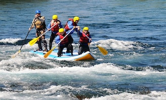 Half Day Stand Up Rafting Limay River - Bariloche
