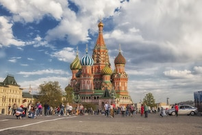 Cathedral of Vasily the Blessed and the Red Square