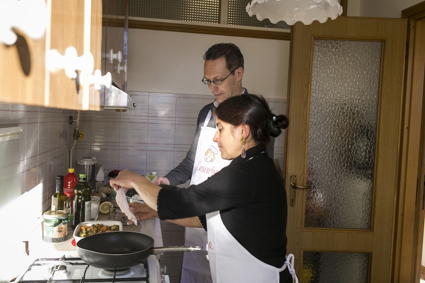 Show item 2 of 4. Private cooking class at a Cesarina's home in Varenna