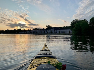 Eco-friendly: Guided Sunset Kayaking in Stockholm-City