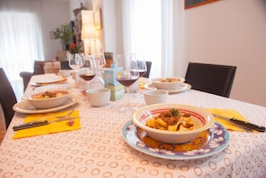 Dining experience at a Cesarina's home in Verona