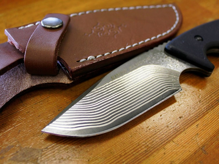 Make Your Own Hunting or Kitchen Knife at a Top Knife Maker