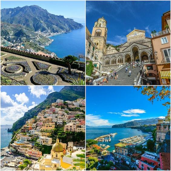 Show item 1 of 7. Best Private Tour Amalfi Coast : Ravello+Amalfi+Positano 8h