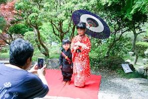 Kimono or Ninja Costume Photoshoot or Tea Ceremony in Hinode