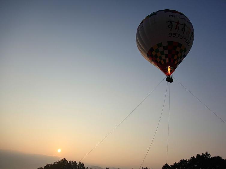 Hot Air Balloon Experience in Hakuba