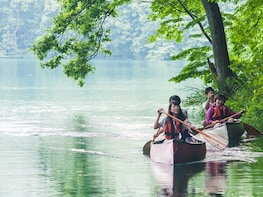 Canoeing Nature Tour on Lake Aoki