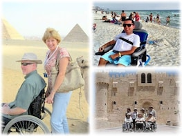 Wheelchair Tour to Cairo from Sokhna