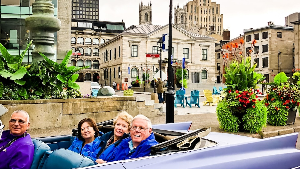 Show item 10 of 10. 1 Hour Tour of Old-Montreal in Vintage Convertible Cadillac