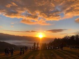 See the Hakuba Sunrise from Kitaone Plateau