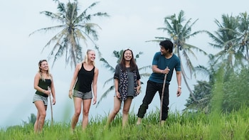 Bali Village Trekking to Rice Paddy and Sangeh Forest