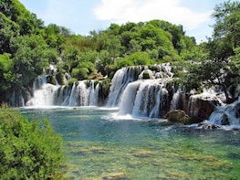 Krka Waterfalls and Sibenik Day Tour from Split or Trogir