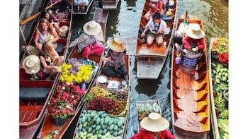 Bangkok: Floating Market Half Day Tour