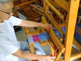 Tama Ori Weaving Experience and Workshop Tour in Hachioji