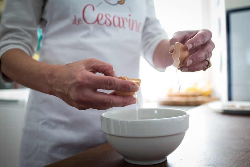 Show item 2 of 5. Pasta-making class in Lake Maggiore at a Cesarina's+Tasting