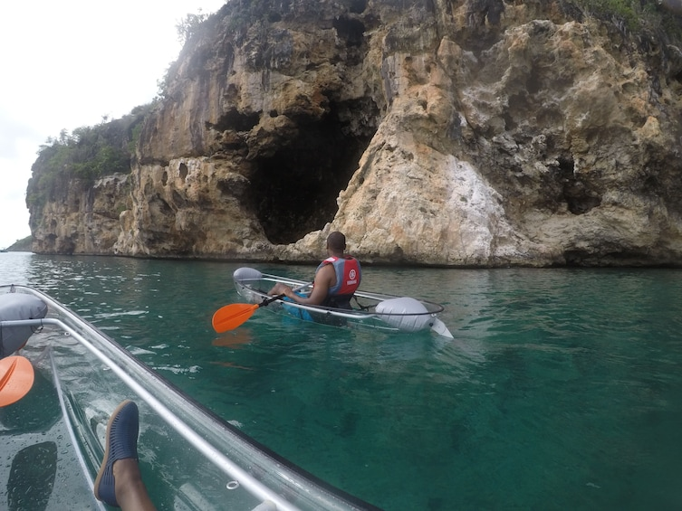 Show item 1 of 3. Day Kayak Tour to Little Bay, Anguilla