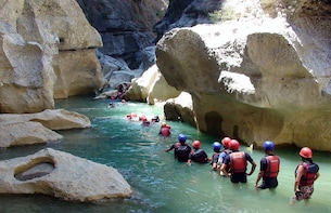 Canyoning and Rafting Tour from Alanya