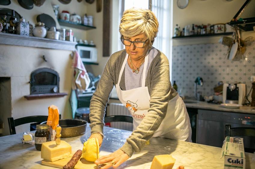 Show item 1 of 4. Cooking class at a Cesarina's home - Santa Teresa di Gallura