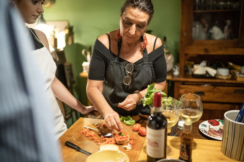 Show item 1 of 4. Private cooking class at a Cesarina's home in Sassari