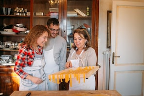 Pasta-making class at a local's home & tasting in Maranello