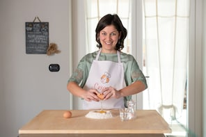 Pasta-making class at a Cesarina's home with tasting Aosta