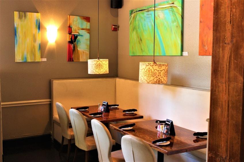 Restaurant interior located in Dallas