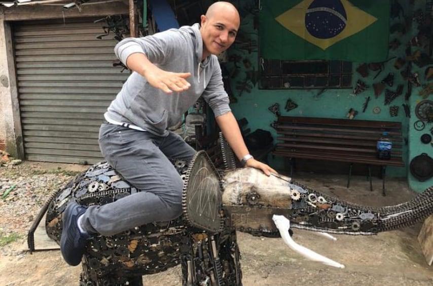Show item 5 of 10. 5-hour FAVELA SÃO PAULO CITY TOUR (SLUM)
