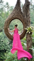 Ubud Amazing Jungle View Swing & Bird Nest for Photo Spot