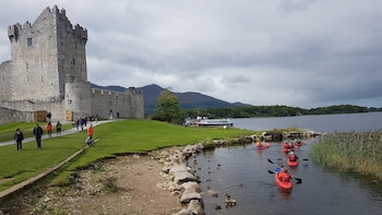 Ross Castle Kayaking Tour.Killarney lakes, Killarney.Guided