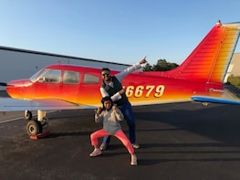 Hudson Flight Lesson for up to 3 people ( 2 hour Lesson)