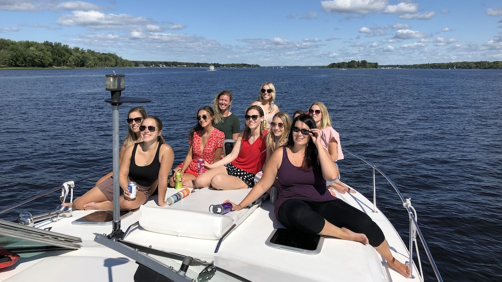 Show item 3 of 8. Ottawa River Tour, Private Yacht