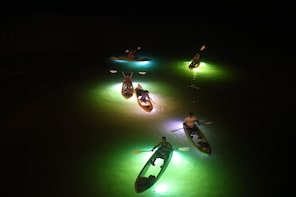 Glass Bottom Kayak LED illuminated Night Tours