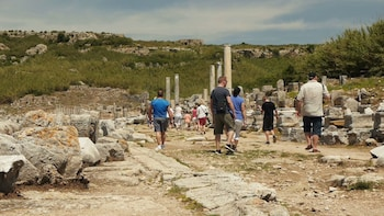 Perge Aspendos Side and Kursunlu Waterfalls Guided Tour from