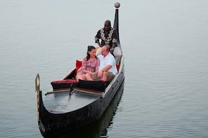African Gondola Boat Ride at Durban Point Waterfront Canal