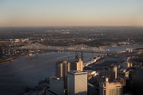 New Orleans 60 Mile Ultimate Helicopter Tour