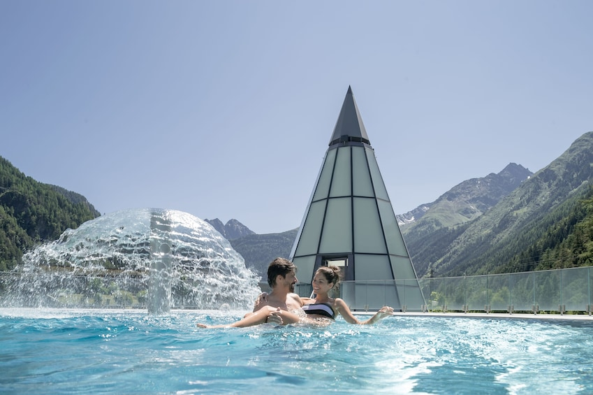 Show item 1 of 3. AQUA Dome Thermal Spa Längenfeld - Relax! Day's vacation