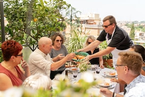 Dining experience at a local's home in Civitavecchia