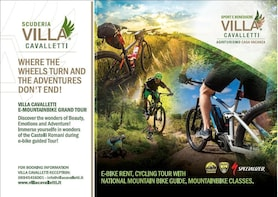 Villa Cavalletti E-Mountainbike Grand Tour
