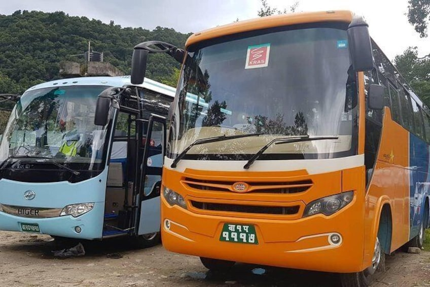 Show item 1 of 7. Pokhara Tourist Bus Ticket