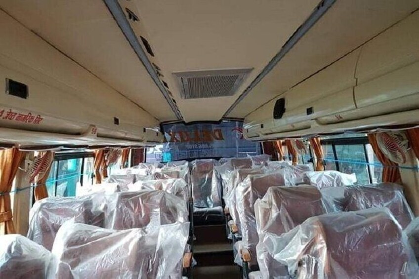 Show item 2 of 7. Pokhara Tourist Bus Ticket