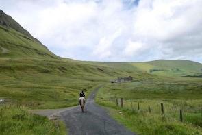 Gleniff Horse Shoe valley ride, Co Sligo. Guided. 5 hours.