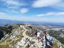National Park Lovcen, village Njegusi and panoramic road