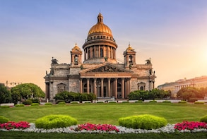 3 Largest Cathedrals of St. Petersburg [10 people max group]