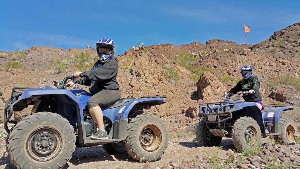 Show item 3 of 12. Las Vegas Dunes ATV Tour