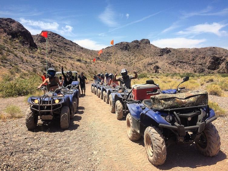 Show item 2 of 12. Las Vegas Dunes ATV Tour