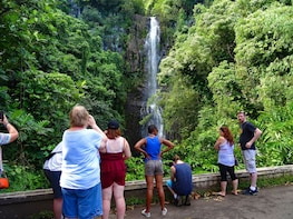 PRIVATE ROAD TO HANA, WATERFALLS & LUNCH
