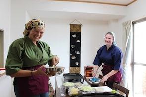 Private Tea Ceremony in Kimono & Cooking Class, Hiroshima