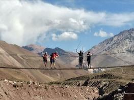 Trekking to Confluencia base camp in Aconcagua