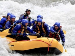 Mendoza river rafting tour. Combine with zip lining