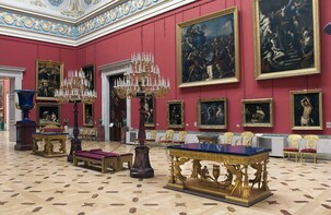 Private tour: Hermitage Museum and Lunch (with transfer)