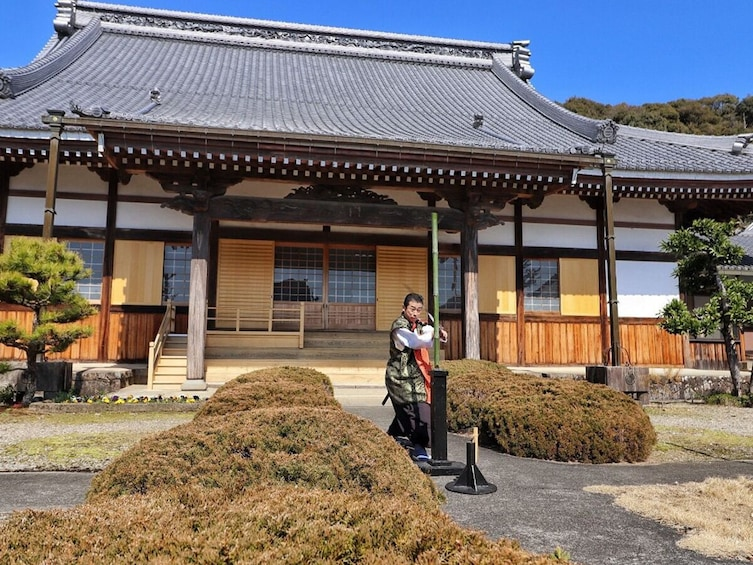 Complete Samurai Sword Experience in Seki City, Gifu